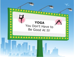 Post image for Yoga – You Don't Have to Be Good At It!