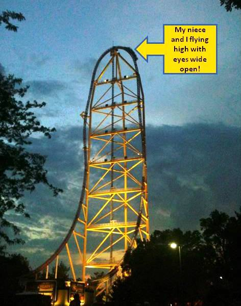 Top Thrill Dragster Roller Coaster