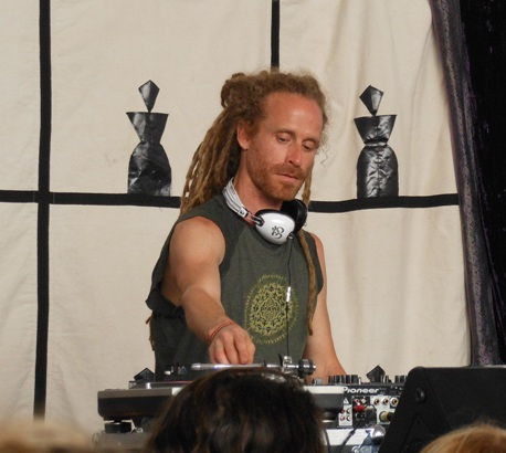 DJ Drez at Tadasana Festival