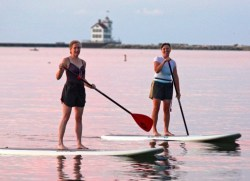 Post image for What's Up With SUP – Stand Up Paddle Board Yoga