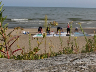 Post image for A Day in the Life of a Beach Yoga Instructor