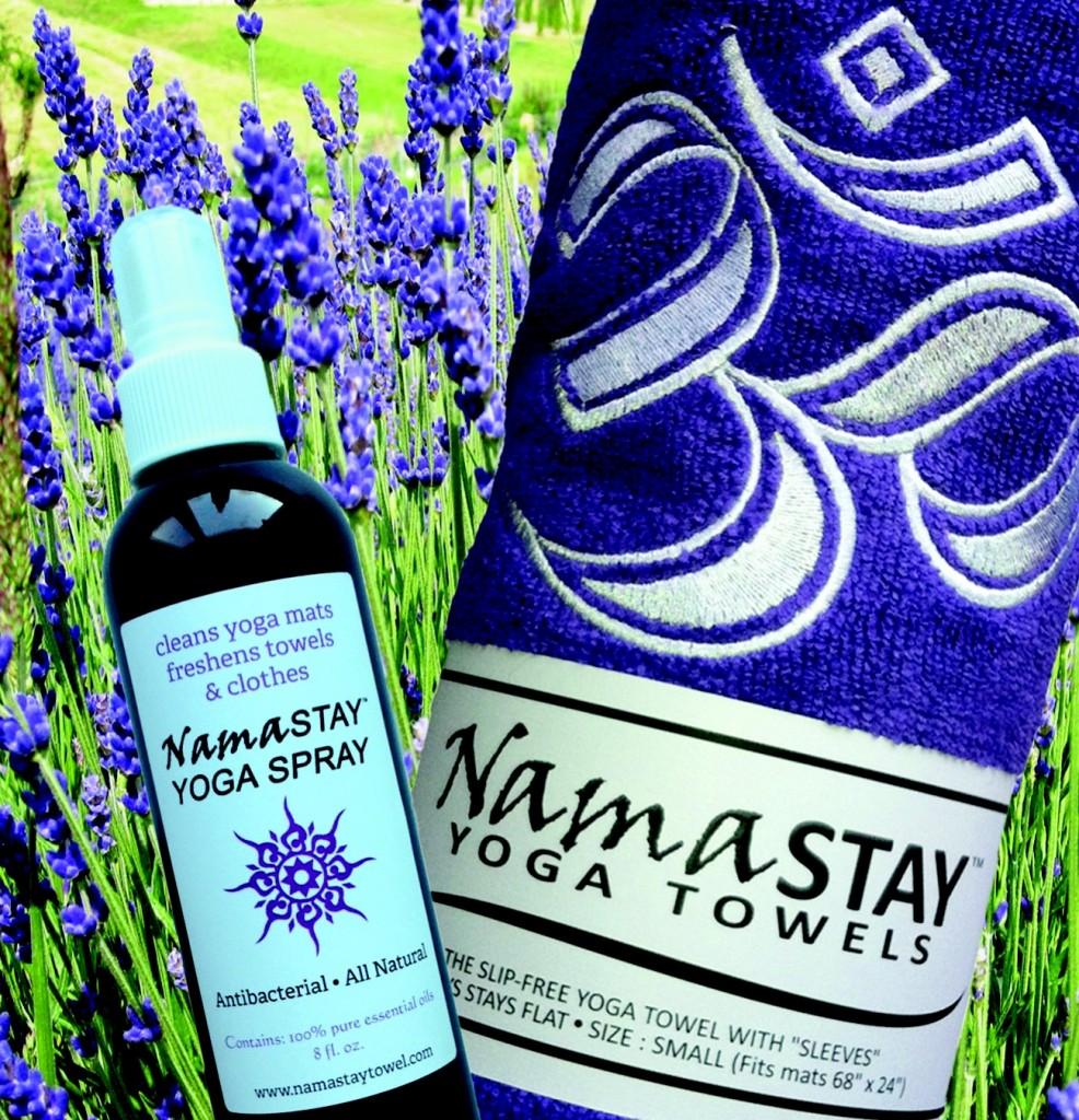 NamaSTAY Yoga Spray