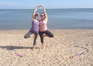 Post image for The Downward Dog Days of Summer (Beach Yoga Tales)