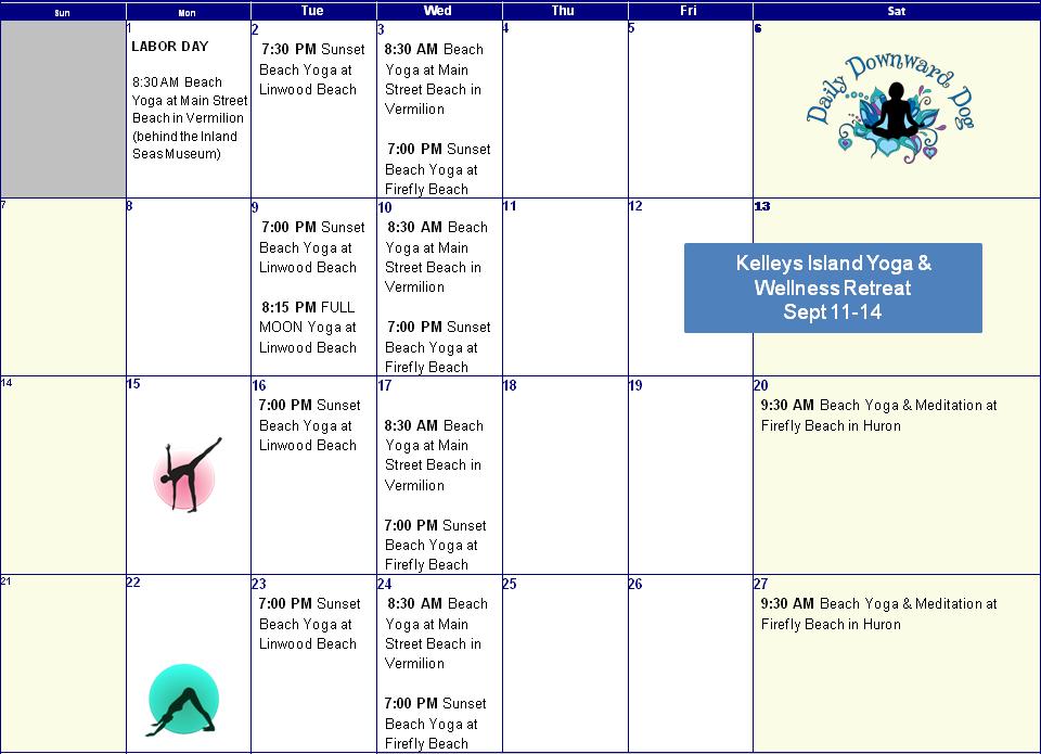 September schedule FINAL