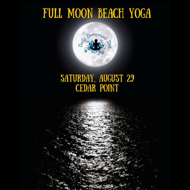 Cedar Point Full Moon Yoga