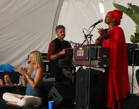 Lady in Red – C.C. White – Bringing Soul Kirtan