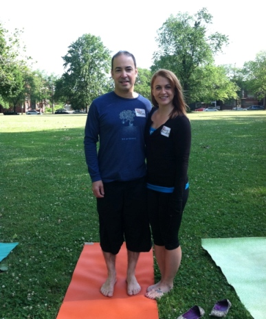 Yoga Rocks the Park in Cleveland!