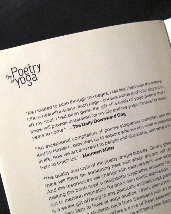 The Poetry of Yoga Volume 2 Review and Free Book Giveaway | The