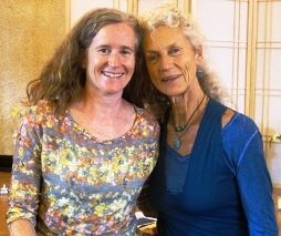 Angela Farmer and Maria Santoferraro