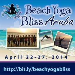 Beach Yoga Bliss Aruba Retreat April 2014