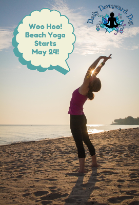 Beach Yoga 2014 Summer Season Starts May 24