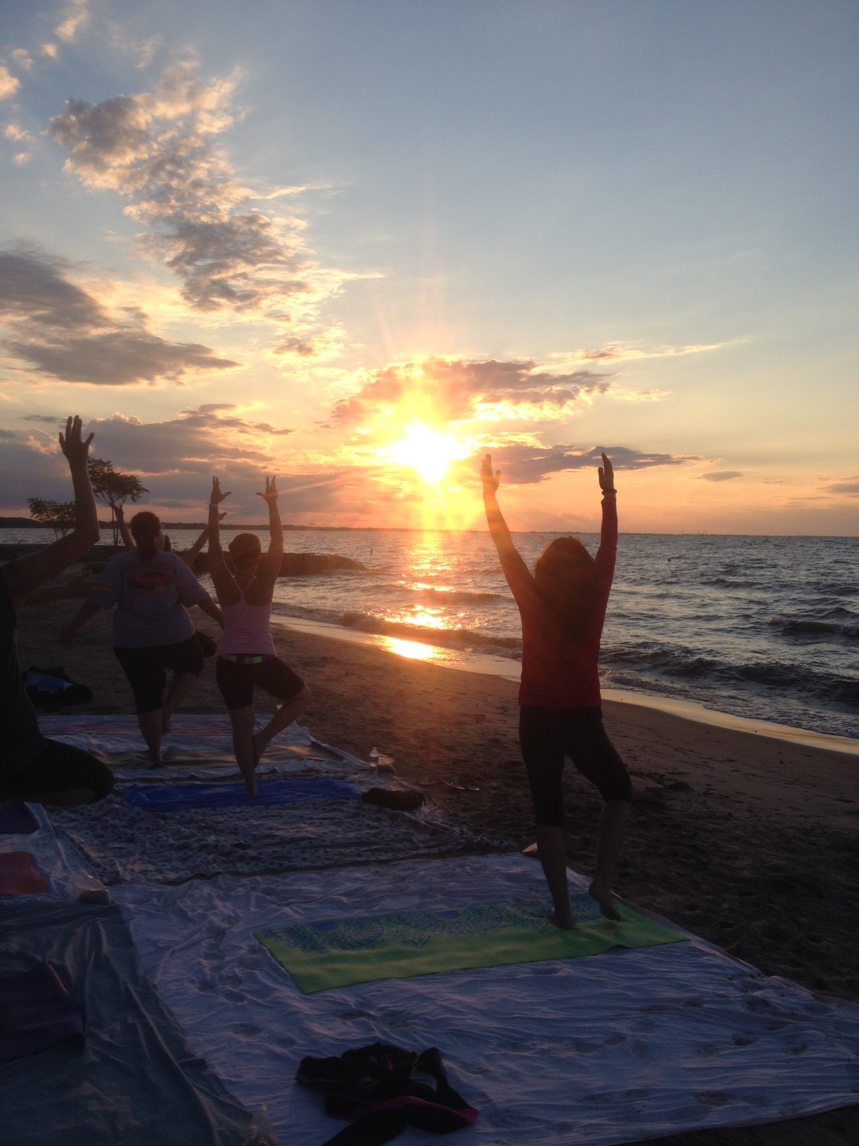 Labor Day Weekend SUPYoga, Beach Yoga And September