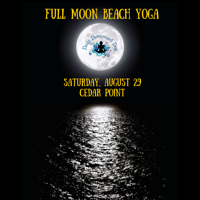 Cedar Point Full Moon Yoga