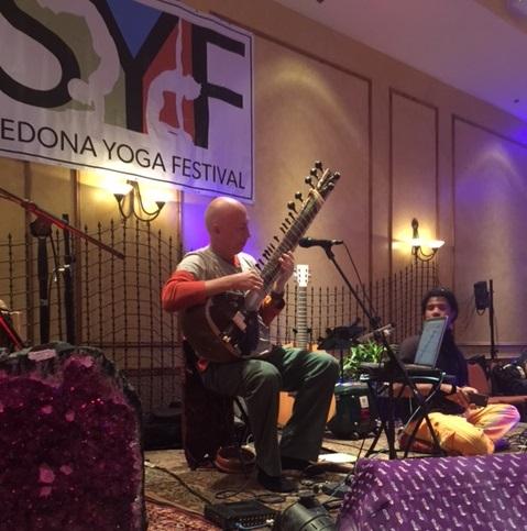 Jim Beckwith at Sedona Yoga Festival