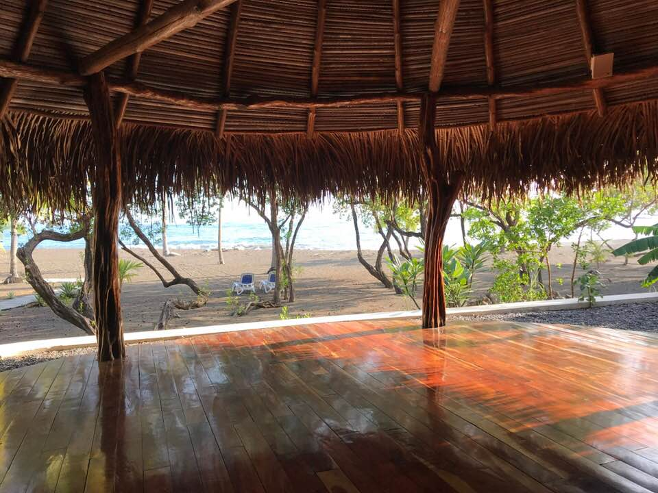 The view from the Yoga Shala